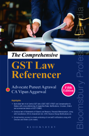 Bloomsbury The Comprehensive GST Law Referencer By Puneet Agrawal