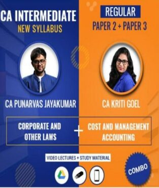 Video Lecture CA Inter Law and Costing Full By CA Punarvas Jayakumar