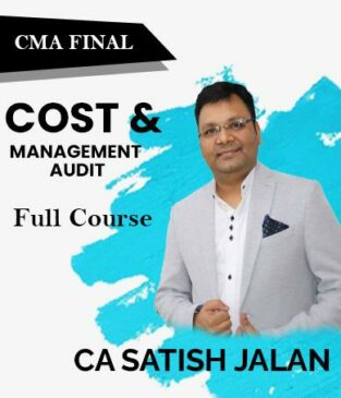 Video Lecture CMA Final Cost and Management Audit By CA Satish Jalan