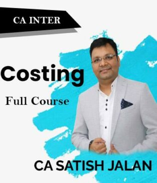 Video Lecture CA Inter Costing Full Course New By CA Satish Jalan