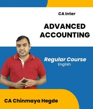 Video Lecture CA Inter Advanced Accounting Full By CA Chinmaya Hegde