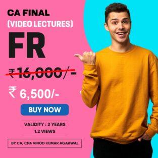 Video Lecture CA Final Financial Reporting By Vinod Kumar Agarwal