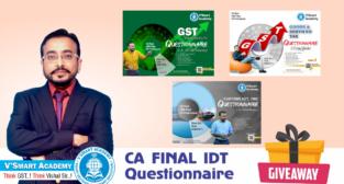CA Final IDT Questioner Book By Vishal Bhattad Nov 2021 Exam