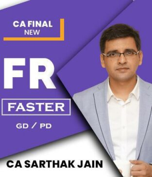 CA Final New Financial Reporting (FR) Faster 2021
