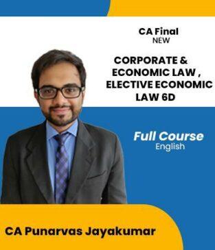 Video Lecture CA Final Law & Elective 6D By Punarvas Jayakumar