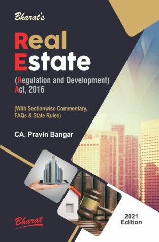 Bharat Real Estate Regulation and Development By CA. Pravin M. Bangar