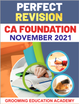 CA Foundation All Subject Perfect Revision Book By Chandan Poddar