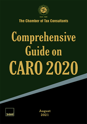 Taxmann Comprehensive Guide on CARO 2020 Edition August 2021