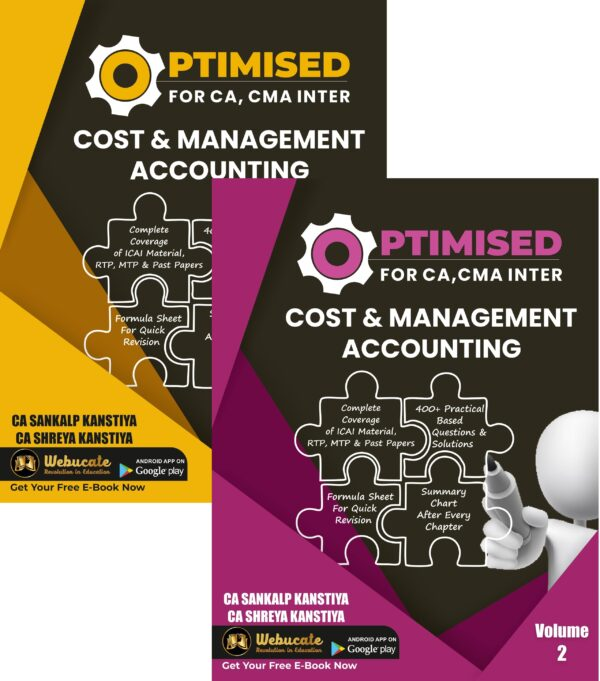 CA / CMA Inter Optimised Costing New Syllabus By CA Sankalp Kanstiya