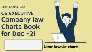 CS Executive Company Law Charts Booklet New By CA Ashish Gupta