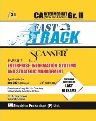 Shuchita Scanner CA Inter Gr. I Paper 7 EISSM (Fast Track Edition)