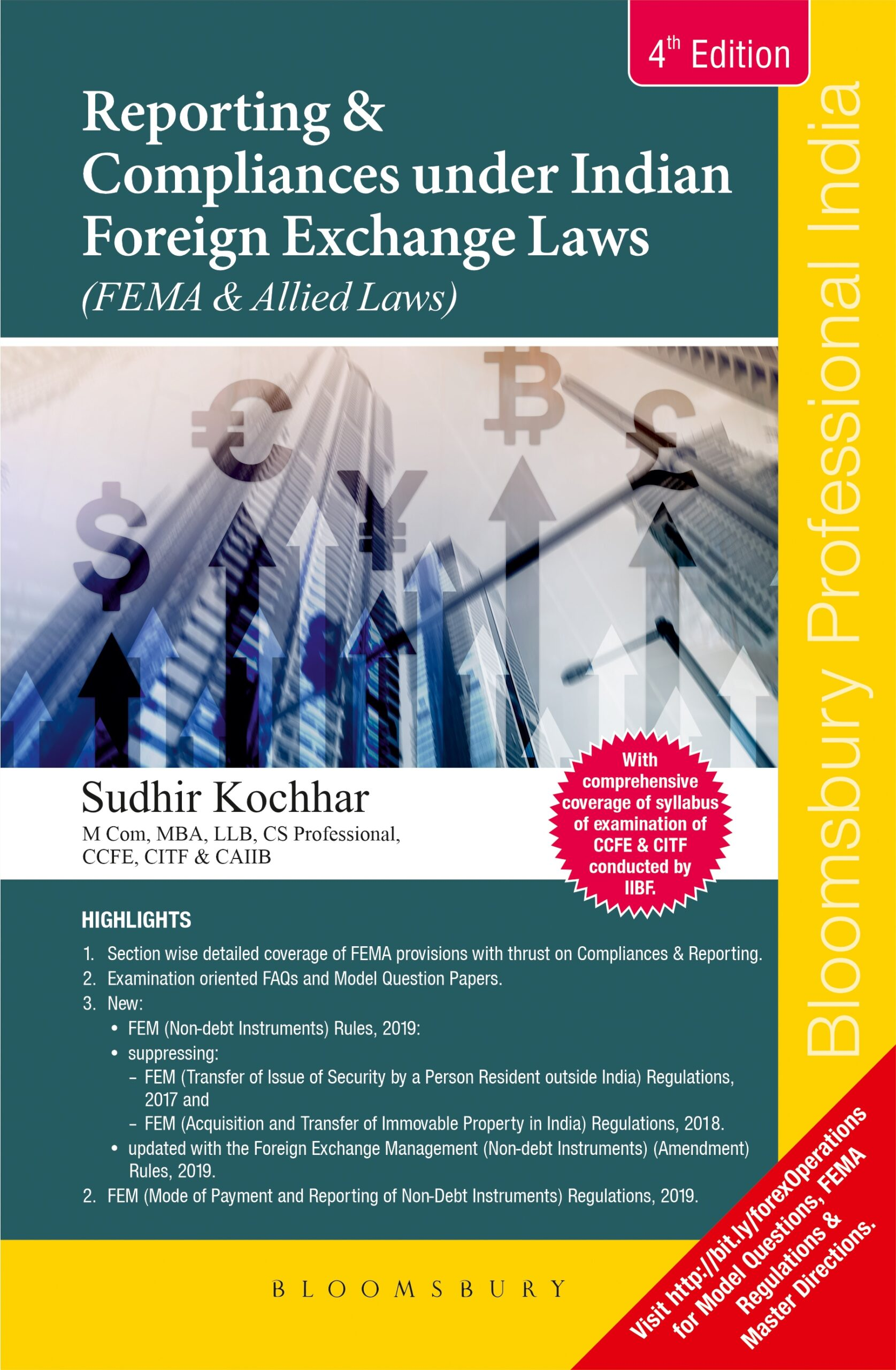 Bloomsbury Reporting and Compliances under FEMA and Allied Laws By Sudhir Kochhar (Use This Coupon Code (BLBY15MD)Extra Discount