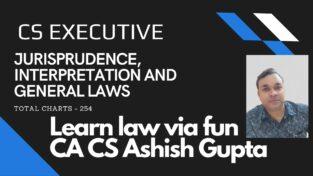 CS Executive JIGL Charts Booklet New Syllabus By CA Ashish Gupta