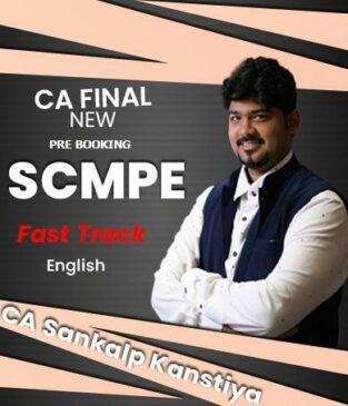 Video Lectures CA Final COSTING SCMPE Full English Sankalp Kanstiya