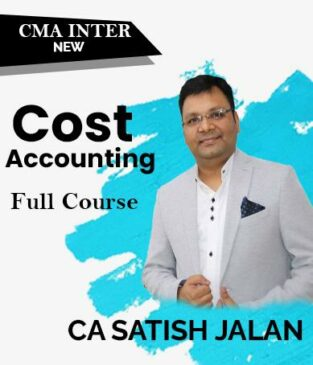 Video Lecture CMA Inter Cost Accounting Full (New) By Satish Jalan