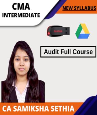 Video Lecture CMA Inter Audit Full Course By Samiksha Sethia