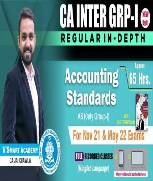 Video Lecture CA Inter Accounting Standards New By CA Jai Chawla