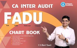CA Inter Audit FADU Chart Book By CA Ravi Taori November 2021
