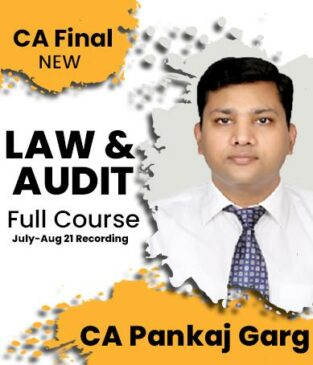 Video Lecture CA Final Audit and Law (Fast Track) New By Pankaj Garg