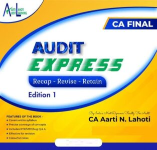 CA Final Audit Express New Syllabus By CA Aarti Lahoti