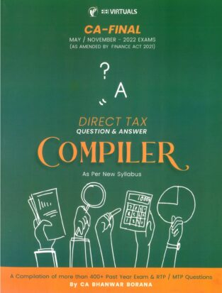 CA Final Direct Tax Compact Compiler Bhanwar Borana May 2022