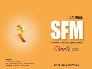 CA Final SFM Charts New Syllabus By CA Mayank Kothari