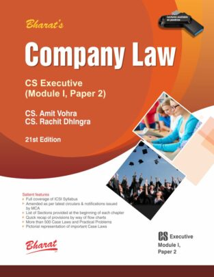 Bharat CS Executive Company Law New Syllabus By CS Amit Vohra