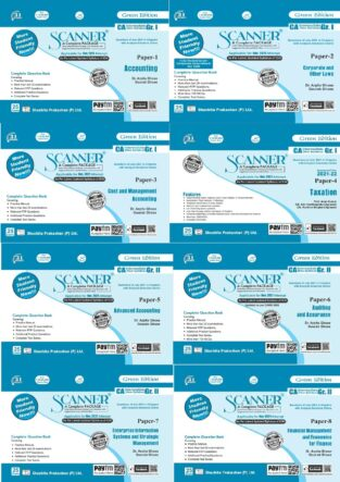 Shuchita Scanner CA Inter Group 1&2 New Paper 1 to 8 By Arpita Ghose