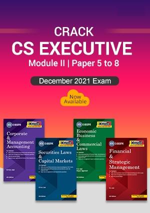 Taxmann Combo for CS inter Cracker New Syllabus By N S Zad