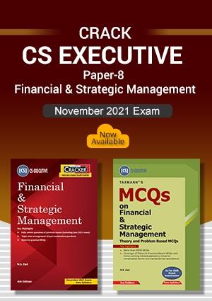Taxmann CS Inter Combo Financial & Strategic Management By N S Zad
