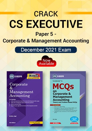 Taxmann CS Inter Corporate & Management Cracker & MCQs By N.S. Zad