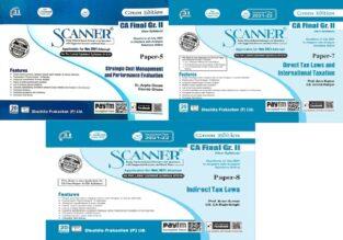 Shuchita Scanner CA Inter Group I New Paper 5,7,8 By Arpita Ghose