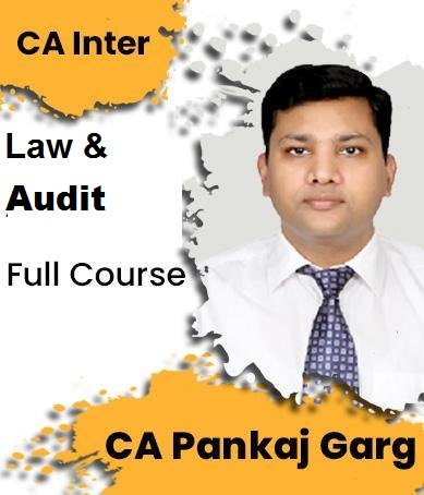 Video Lecture CA Inter Law and Audit Full New By CA Pankaj Garg