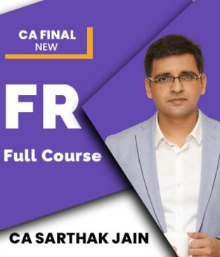 Video Lecture CA Final Financial Reporting New By CA Sarthak Jain
