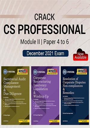 Taxmann Combo CS Professional Cracker Module 2 By Ritika Godhwani
