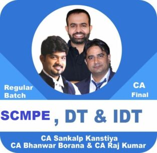 Video Lectures CA Final Combo SCMPE and IDT and DT Regular Batch