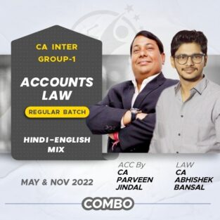 Video Lecture CA Inter Accounts & Law By CA Parveen Jindal