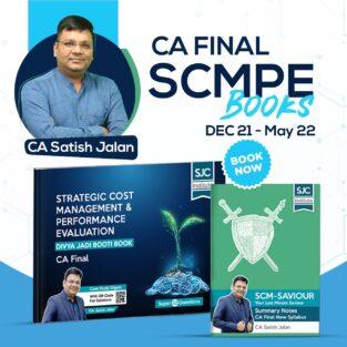 CA Final SCMPE Divya Jadi Booti and Saviour Book By CA Satish Jalan