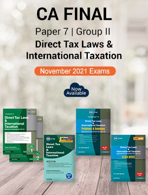 Taxmann CA Final D T Textbook Cracker P/S & Class Notes Rahul Agarwal