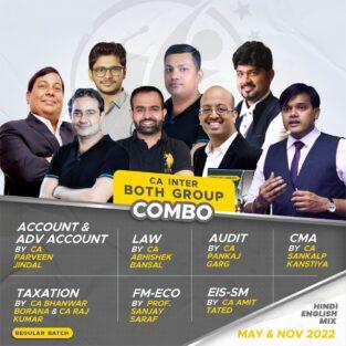 Video Lecture CA Inter Combo Both Group May / November 2022