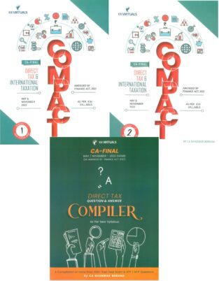 CA Final Direct Tax Compact and Q/A Compiler By Bhanwar Borana